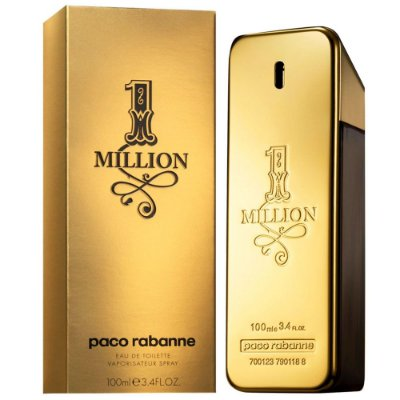 Perfume 1 Million Masculino Eau de Toilette Paco Rabanne 100ml