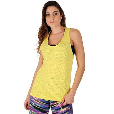 Camiseta Fitness Tecido Furadinho - Yup Fitness