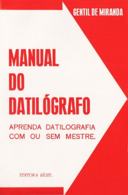 Manual do Datilógrafo com ou sem Mestre