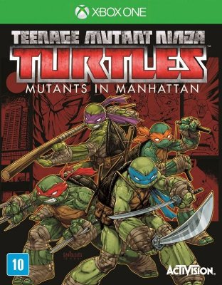 XONE Teenage Mutant Ninja Turtles - Mutants in Manhattan