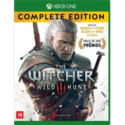 XONE The Witcher 3 - Wild Hunt Complete Edition