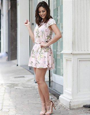 Shorts Floral Cris