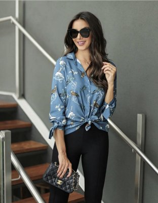 Camisa Viscose Kelly