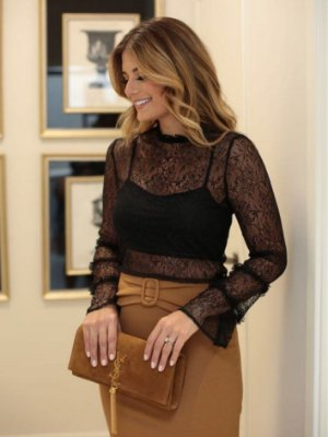 Blusa Black Lace