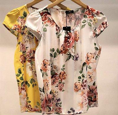 Blusa Crepe Floral - Isabela