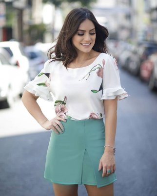 Blusa Floral - Diana