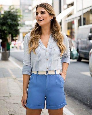 Shorts Clochard Cinto Azul