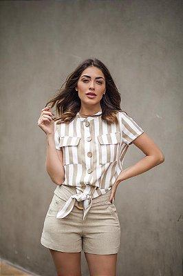 Blusa Listrada - Sandra