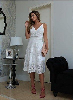 Vestido Renda - Ivana