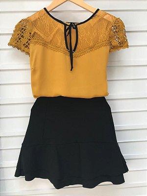 Blusa Crepe - Priscila