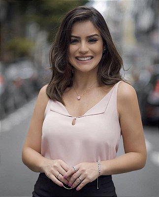 Regata Botão Pérola - Francine