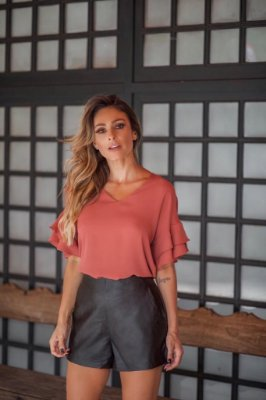 Blusa Crepe - Luisa