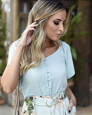 Blusa Crepe - Marieta ( Mint, Rosê e Preta)