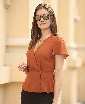 Blusa Crepe - Melissa (CORES)