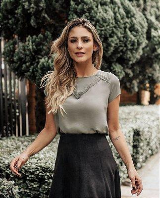 Blusa Crepe - Lulu (CORES)