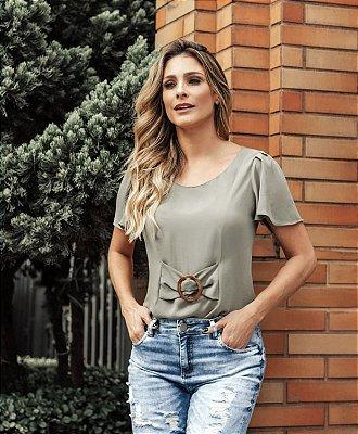 Blusa Crepe - Madson (CORES)