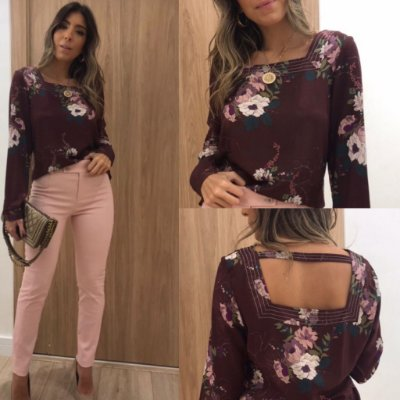 Blusa Viscose - Lorena