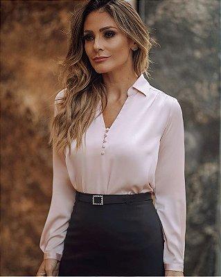 Camisa Cetim - Isadora (CORES)