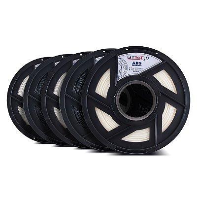 Kit 5 kg de filamento ABS Premium - GTMax3D