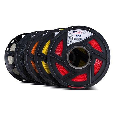 Kit 5 kg de filamentos mistos - GTMax3D