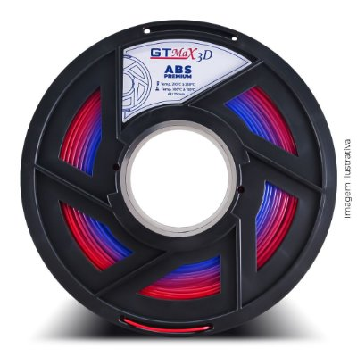 Filamento ABS Premium 1.75mm GTMax3D - ECO Plast