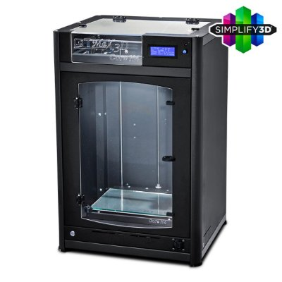 Impressora 3D Pro - GTMax3D Core H4 + Software Simplify3D + 1 kg de filamento ABS