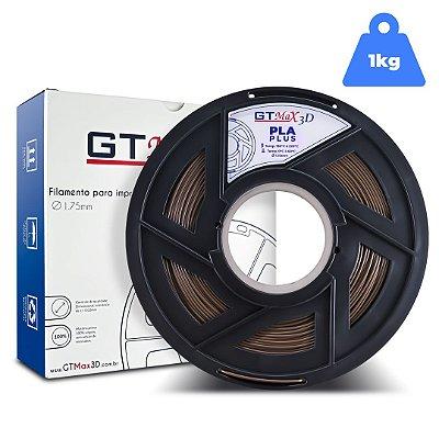 Filamento PLA 1.75mm GTMax3D - Marrom 1kg