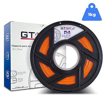 Filamento PLA 1.75mm GTMax3D - Laranja 1kg