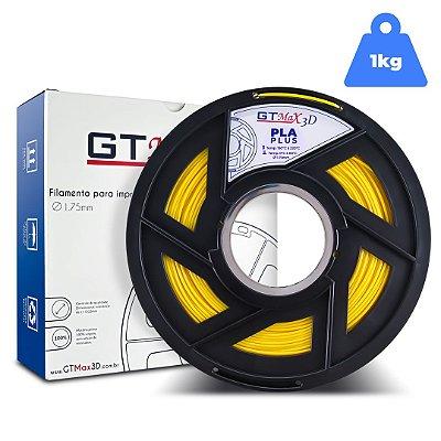 Filamento PLA 1.75mm GTMax3D - Amarelo 1kg