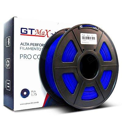 Filamento PLA 1.75mm GTMax3D - Azul 1kg