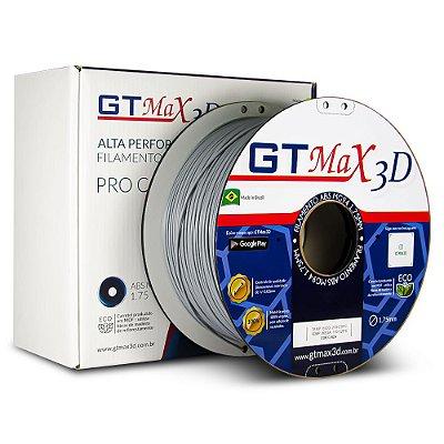Filamento ABS Premium MG94 1.75mm GTMax3D - Cinza
