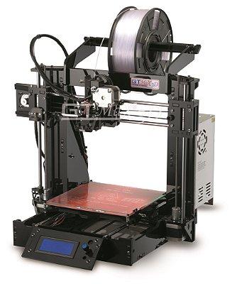 Impressora 3D Graber i3 GTMax3D - Montada e Configurada