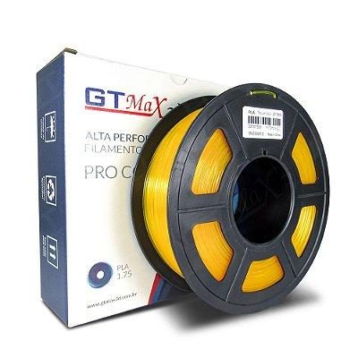 Filamento PLA 1.75mm GTMax3D - Amarelo Translúcido 1kg