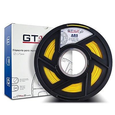 Filamento ABS Premium 1.75mm GTMax3D - Amarelo