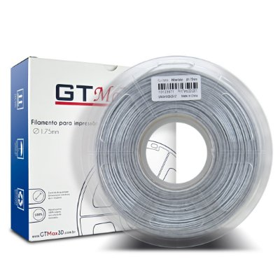 Filamento PLA 1.75mm GTMax3D - Mármore 1kg
