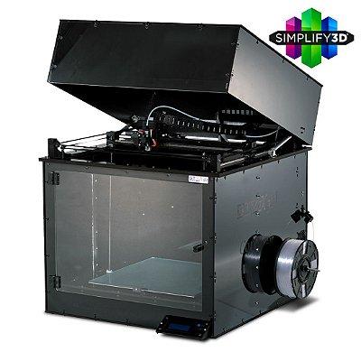 Impressora 3D Pro - GTMax3D Core AB400 + Software Simplify3D