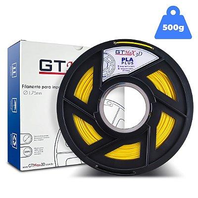 Filamento PLA 1.75mm GTMax3D - Amarelo - 500g