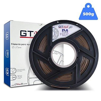 Filamento PLA 1.75mm GTMax3D - Marrom - 500g