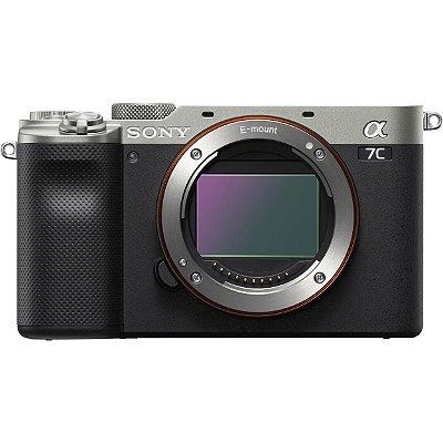 Câmera Sony Alpha a7C Corpo (Prata)