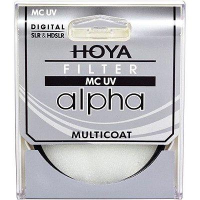Filtro Hoya 77mm alpha MC UV Filter