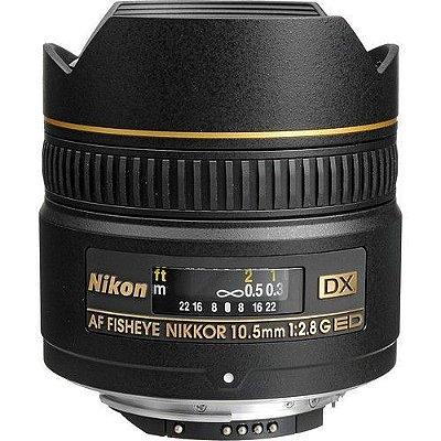 Lente Nikon AF DX Fisheye-NIKKOR 10.5mm f/2.8G ED