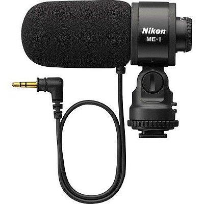 Microfone Nikon ME-1 Estereo Microphone para Câmeras DSL e Filmadoras