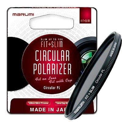 Filtro 52mm Marumi Circular Polarizador Fit + Slim 52mm