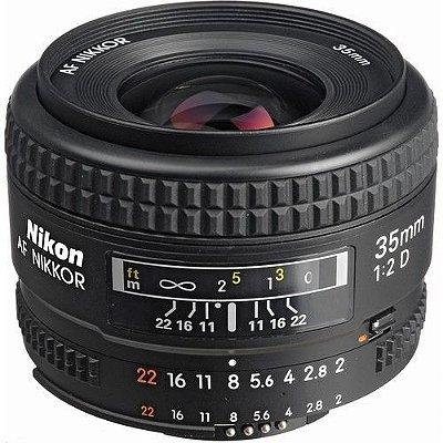 Lente Nikon AF Nikkor 35mm f/2D