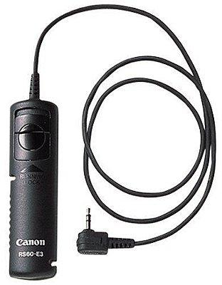 Controle remoto Canon RS-60E3 para Câmeras EOS RP / 70D / T3i / T5 / T5i / G16 / SX60 HS