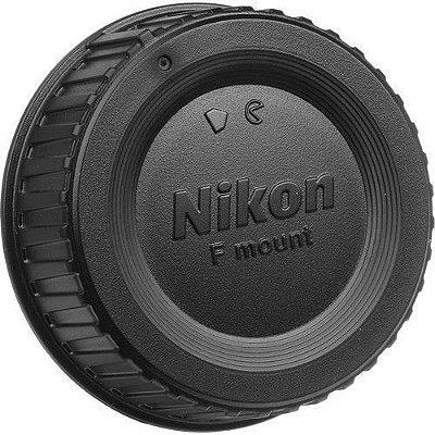 Tampa traseira de Lente Nikon LF-4 para as Lentes Nikon encaixe F