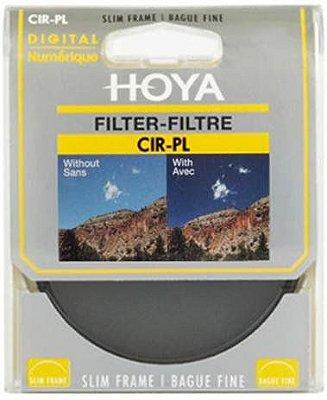 Filtro HOYA 58mm Polarizador Circular Slim Frame