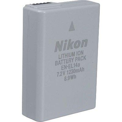 Bateria Nikon EN-EL14a para Câmera Nikon D3100 / D3200 / D3500 / D5100 /  D5300 / D5600