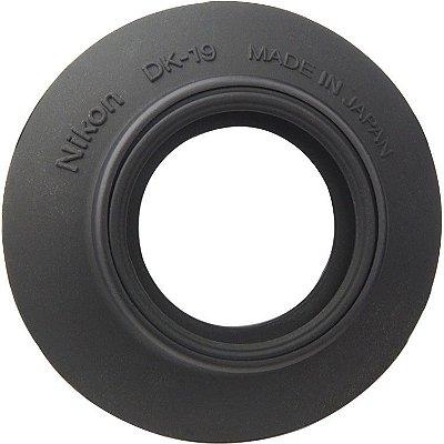 Ocular Nikon DK-19 Rubber Eyecup para Câmeras D810 / D850 / D500 / D5 / D4S / D3 / D700 / Df