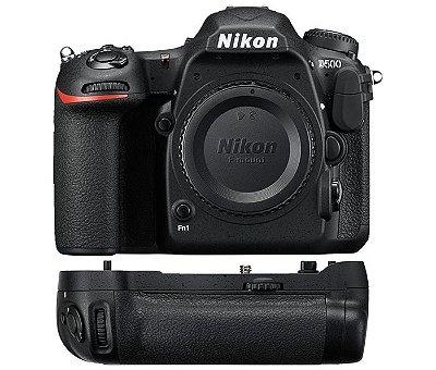 Câmera Nikon D500 Corpo + Multi Battery Power Pack Nikon MB-D17